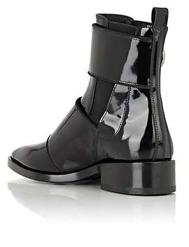 Buckled Strap Chelsea Boots by Lanvin