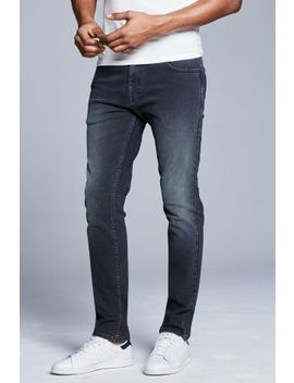 Mid Blue Soft Touch Jeans by Next
