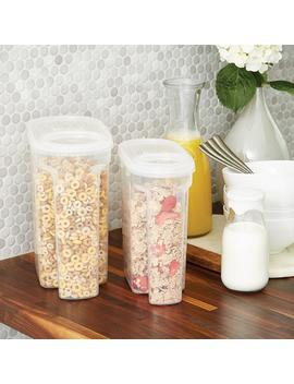 Tellfresh Store 'n Pour Dry Food Dispensers by Container Store