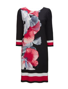 Black Rouge Orchid Tunic Dress by Wallis