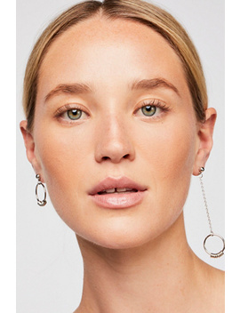 Asymmetrical Hoop Earrings by Free People
