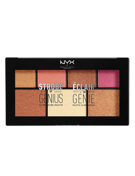 "Strobe Of Genius Illuminating Palette   Warm              <Span Class=""Product.Sample.Minicart.Class.Variationdetails""></Span> by Nyx Cosmetics"