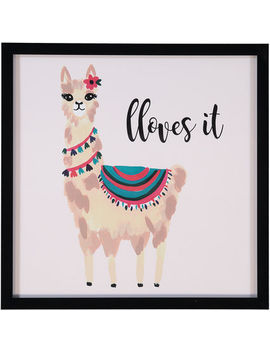 Llama Loves It 44x44cm by