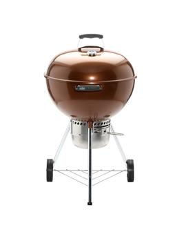 "22 In. Original Kettle Premium Charcoal Grill In Copper With Built In Thermometer by <A Class=""Bttn Outline Bttn  Cta"" Href=""/B/Outdoors Outdoor Cooking Grills Charcoal Grills/Weber/N 5yc1v Z1ls Zbx8h"" Data Target=""N/A"">                 <Span Class=""Bttn  Content"">Weber</Span>             </A>"