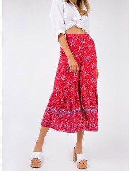 Minkpink Lucia Button Front Maxi Skirt by Minkpink