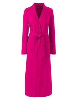 Women's Supima Cotton Robe by Lands' End