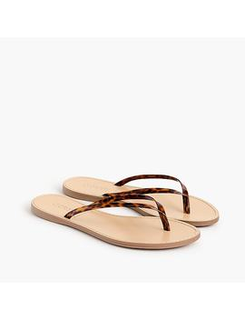 Tortoise Capri Sandals by J.Crew