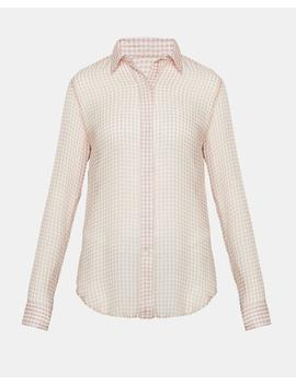 Gingham Essential Button Down by Theory