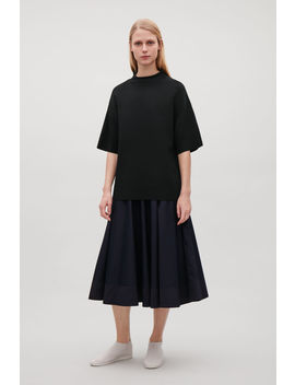 Merino Top With Raised Neck by Cos