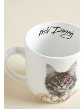 Par Tea Animal Mug In Cat Par Tea Animal Mug In Cat by Modcloth