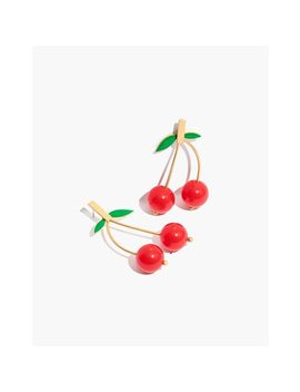 Cherry Drop Earrings by Madewell