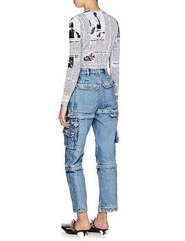 Convertible Cargo Jeans by Balenciaga