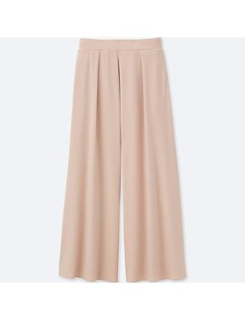 Damen Weite Jersey Hose by Uniqlo