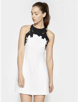 Embroidered Dress by Halston