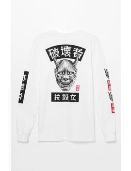 X George Thompson Kabuki Long Sleeve T Shirt by Rvca