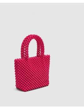 beaded-mini-shopper--bagswoman by zara