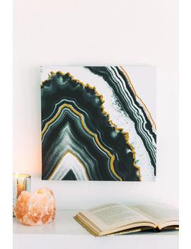 Black Agate Wall Art by Francesca's