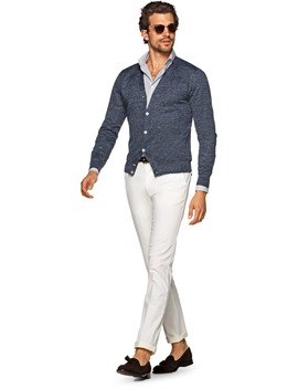 Blue Cardigan by Suitsupply