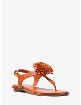 Lolita Leather Sandal by Michael Michael Kors