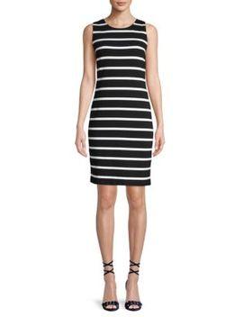 Stripe Sheath Dress by Premise