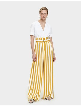 Striped Pleated Pant by Need Supply Co.