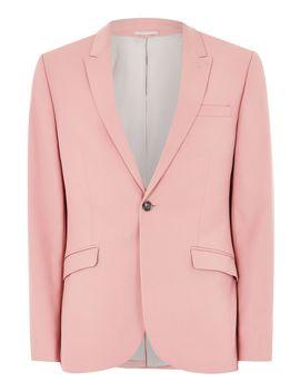 Pink Skinny Suit Jacket by Topman