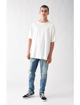 Skinny Comfort Stretch Destroy Light Jeans by Pac Sun
