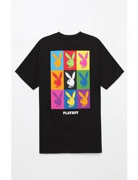 X Playboy 9 Box T Shirt by Good Worth