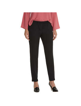 Betty & Co. Crepe Tailored Trousers, Black by Betty Barclay