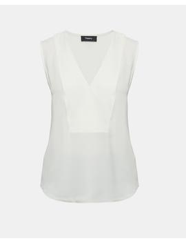 Silk Crossover Top by Theory