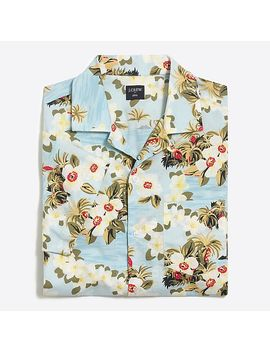 J.Crew Mercantile Slim Fit Printed Camp Collar Shirt by J.Crew