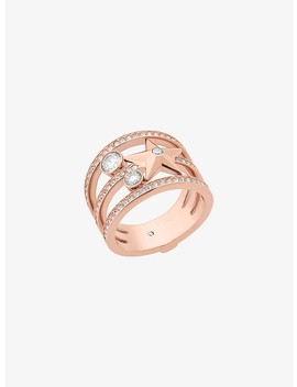 Rose Gold Tone Celestial Ring by Michael Kors