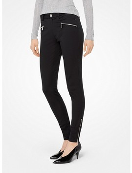 Stretch Twill Skinny Pants by Michael Michael Kors