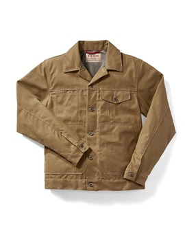 Tin Cloth Short Lined Cruiser Jacket by Filson