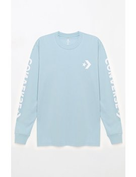 Star Chevron Long Sleeve T Shir by Converse