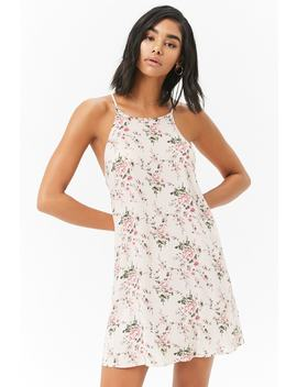 Floral Mini Shift Dress by Forever 21