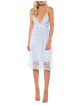 Crochet Strappy Dress by Dex