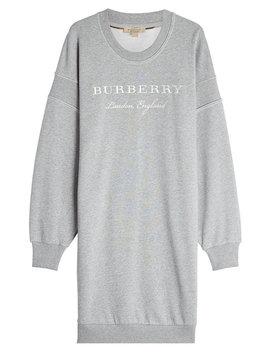Cotton Sweatshirt Dress by Burberry