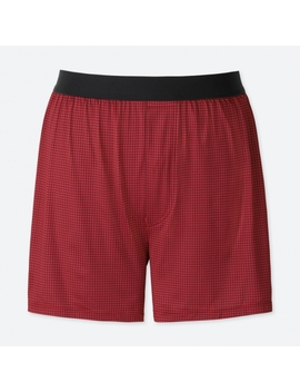 Men Ai Rism Check Trunks by Uniqlo