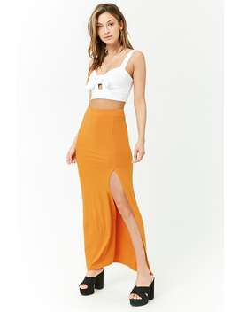 Bodycon Maxi Skirt by Forever 21
