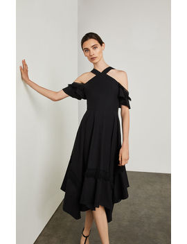 Off The Shoulder Handkerchief Dress by Bcbgmaxazria