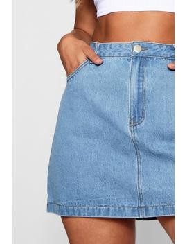 Plus Andi Twin Pack Micro Mini Denim Skirt by Boohoo