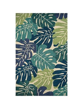 Beachcrest Home Totterdell Hand Hooked Green Indoor/Outdoor Area Rug & Reviews by Beachcrest Home