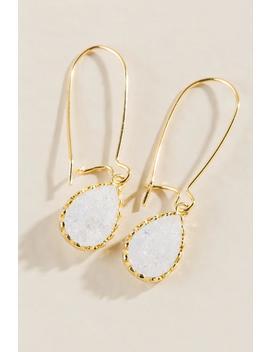 Hailey Crystal Linear Earrings by Francesca's