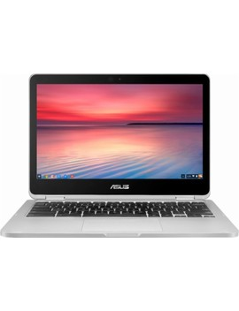 "Flip C302 Ca 12.5"" Touch Screen Chromebook   Intel Core M3   4 Gb Memory   32 Gb E Mmc Flash Memory   Silver Metal, Silver Plastic by Asus"