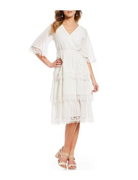 Gibson &Amp; Latimer Embroidered Cotton Midi Dress by Gibson &Amp; Latimer