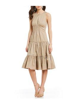 Kristen Tiered Dress by Cremieux
