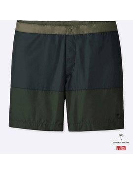Men Tomas Maier Swim Shorts by Uniqlo
