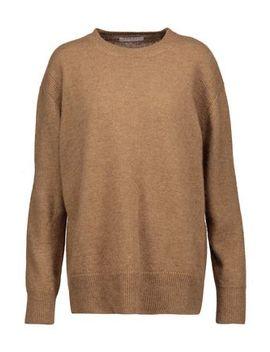 Calvin Camel Hair Sweater by Sandro Paris