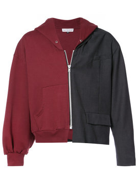 half-hoodie-jacket by gosha-rubchinskiy